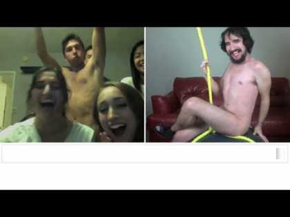 "Miley Cyrus ""Wrecking Ball"" - #Chatroulette Version"