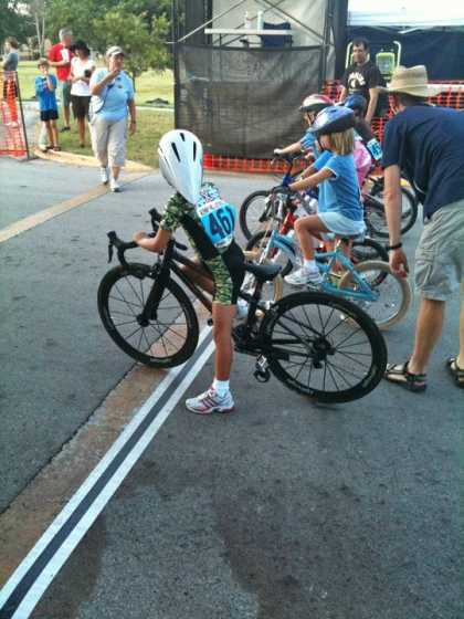 Child bike #racing is not just a game...