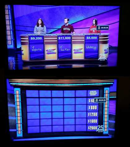 Diversity on #Jeopardy tonight