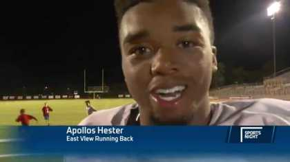 This high school football player can be the next Tony Robbins! Listen to his after game interview! #Motivation