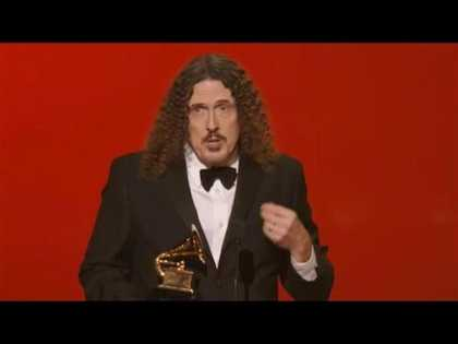 Just want to let everyone know that Weird Al Yankovic won a Grammy Last night... it wasn't just televised