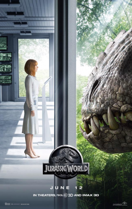 What do you think of the new 'Jurassic World' poster?