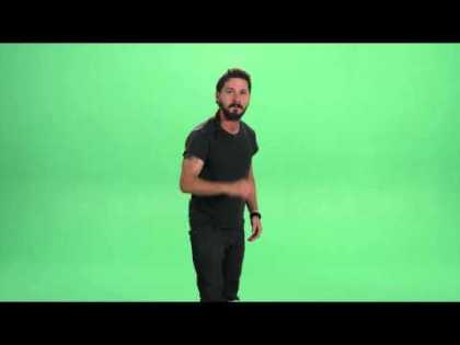 Shia LaBeouf Delivers Intense Motivational Speech... 'Just Do It!'