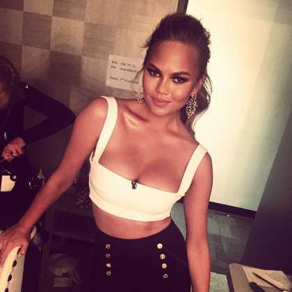 Chrissy Teigen on Instagram @chrissyteigen