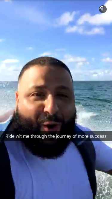DJ Khaled Snapchat Username @DJKhaled305