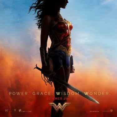 Gal Gadot shares Wonder Woman movie poster