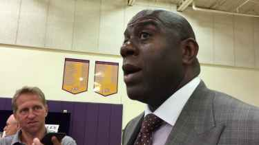 Magic Johnson Calls Lonzo Ball 'Special'