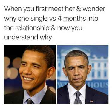 On why she's been single...