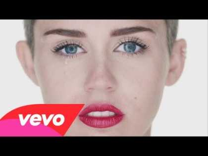 What do you think of Miley Cyrus 'Wrecking Ball' music video? Is there too much sexuality in today's pop music culture? #MileyCyrus