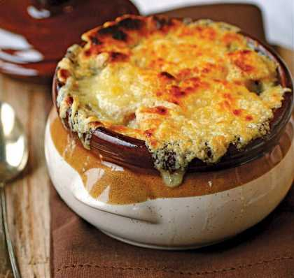 How about a french onion soup?