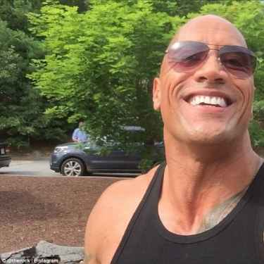 "Dwayne ""The Rock"" Johnson Snapchat"