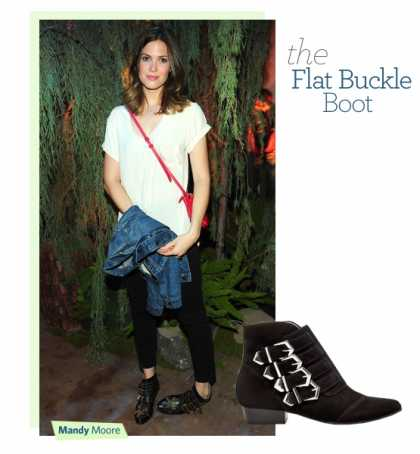 #Fall 2013 Trend - Flat Buckle #Boots