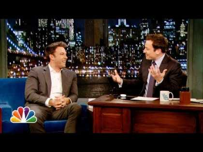 Ben Affleck Broke His Silence And Talks About #Batman On Jimmy Fallon