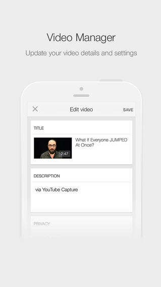#PhotoAndVideo: YouTube Creator Studio iPhone App