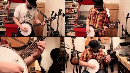 "This guy's banjo cover of Metallica's ""Enter Sandman"" is epic!"