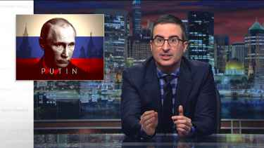 John Oliver tries to explain to President Trump who Putin is