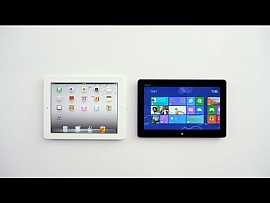 Windows 8 Surface vs Apple iPad #gadget