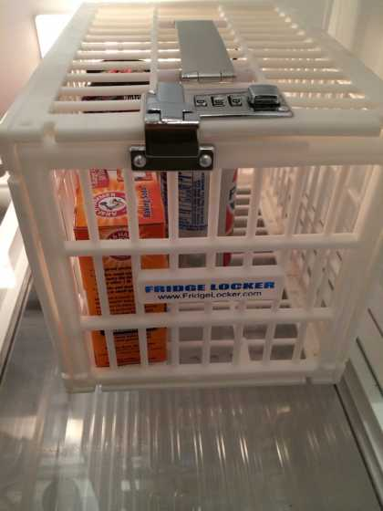 Must have if you work in an office... get a #fridge locker now!