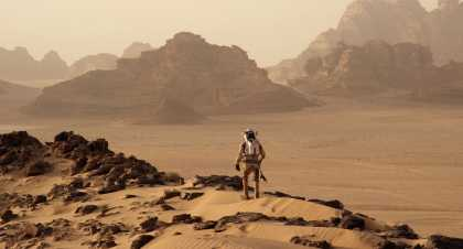 'The Martian' Official Trailer