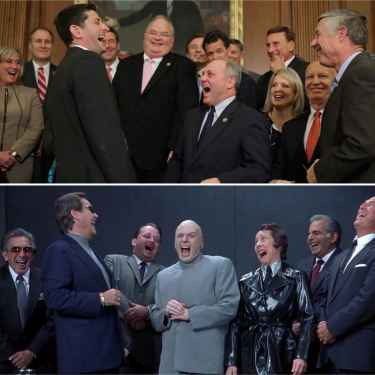 GOP's #House of Dr. Evil