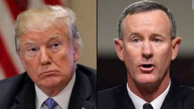 President Bone Spurs Bash Retired Adm. William McRaven, the Architect of bin Laden Raid. #Trump