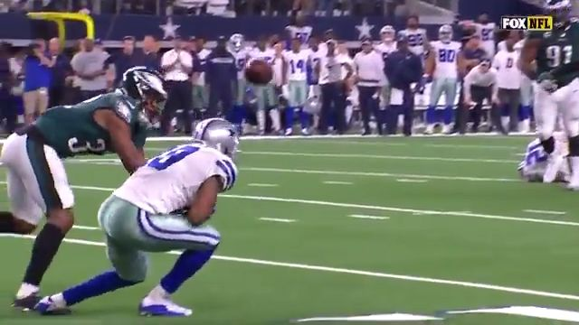 #Cowboys' Amari Cooper Game Winning Catch Against The #Eagles