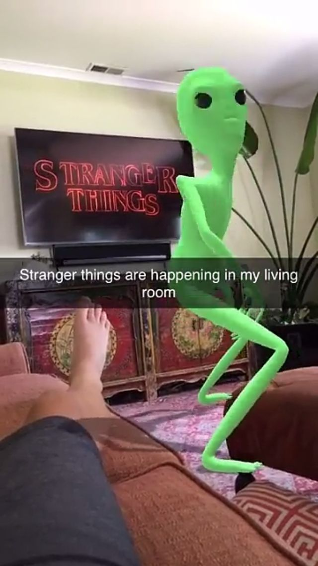 Watching #StrangerThings when this happens...