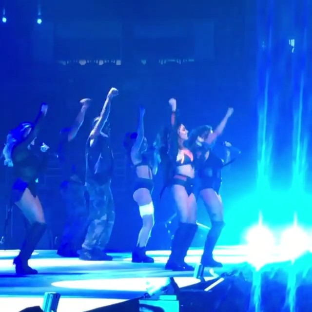#WATCH: Little Mix opens the act with 'Shout Out to My Ex' at Ariana Grande's Dangerous Woman Tour 🙀