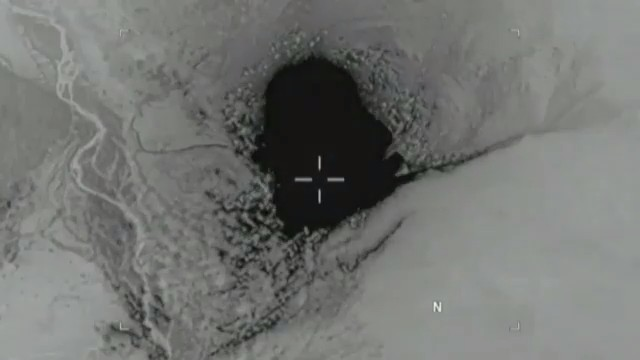 Video of US MOAB bomb dropped in Afghanistan
