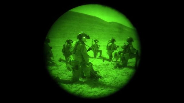 U.S. Raid Killed #ISIS Commander in This Rare Night Vision Video Footage