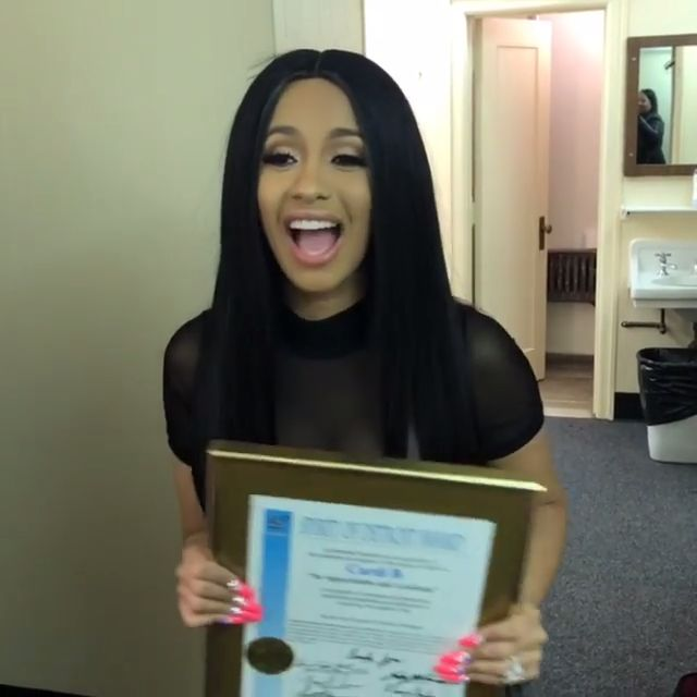 #CardiB: If you think you're ugly, there's somebody out there who's uglier than you...