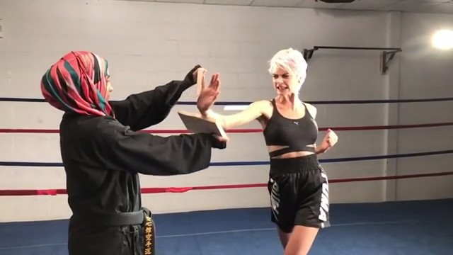 Cara Delevingne show some karate chop skills on Instagram