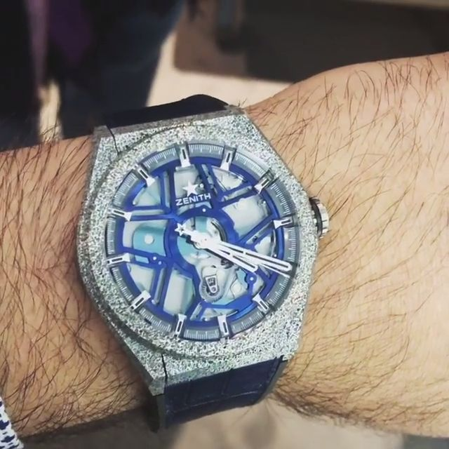 #Zenith Defy Lab, World's Most Accurate Mechanical Watch